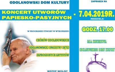 Koncert utworów papiesko-pasyjnych