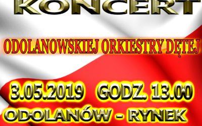 Koncert Odolanowskiej Orkiestry Dętej – 03.05.2019