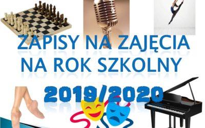 Oferta zajęć ODK – 2019/2020