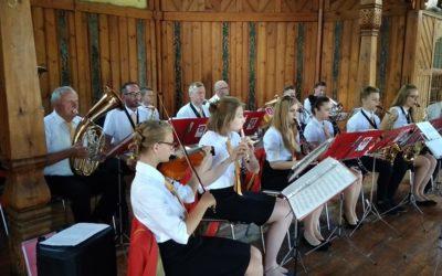 Odolanowska Orkiestra Dęta i Chór Barbara koncertowali w Świeradowie Zdroju