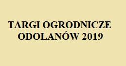 Zapraszamy do udziału w Targach Ogrodniczych 29.09.2019r.