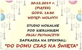 Zapraszamy na koncert Studia Wokalnego z ODK