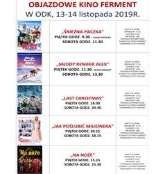 Kino Ferment w ODK 13-14.12 repertuar