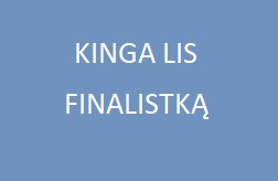 Kinga Lis finalistką !