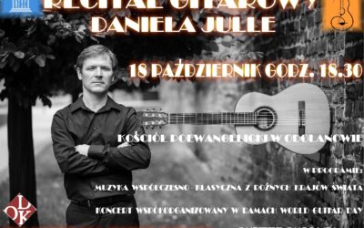 Zapraszamy na koncert gitarowy Daniela Julle